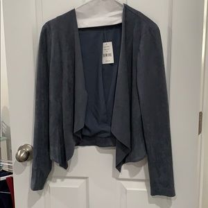Tart Collections Suede Cardigan